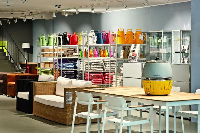 Kassenbereich im Cairo Designstore München