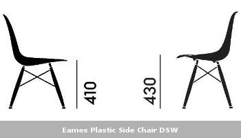 Die Eames Plastic Side Chairs Und Die Eames Plastic Armchairs Sind (mit  Ausnahme Der Modelle In Sea Cypress Grey) Nur Noch In Der Neuen Sitzhöhe  Erhältlich.