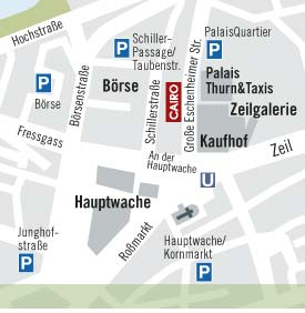 Designermöbel Ausstellung Frankfurt Lage